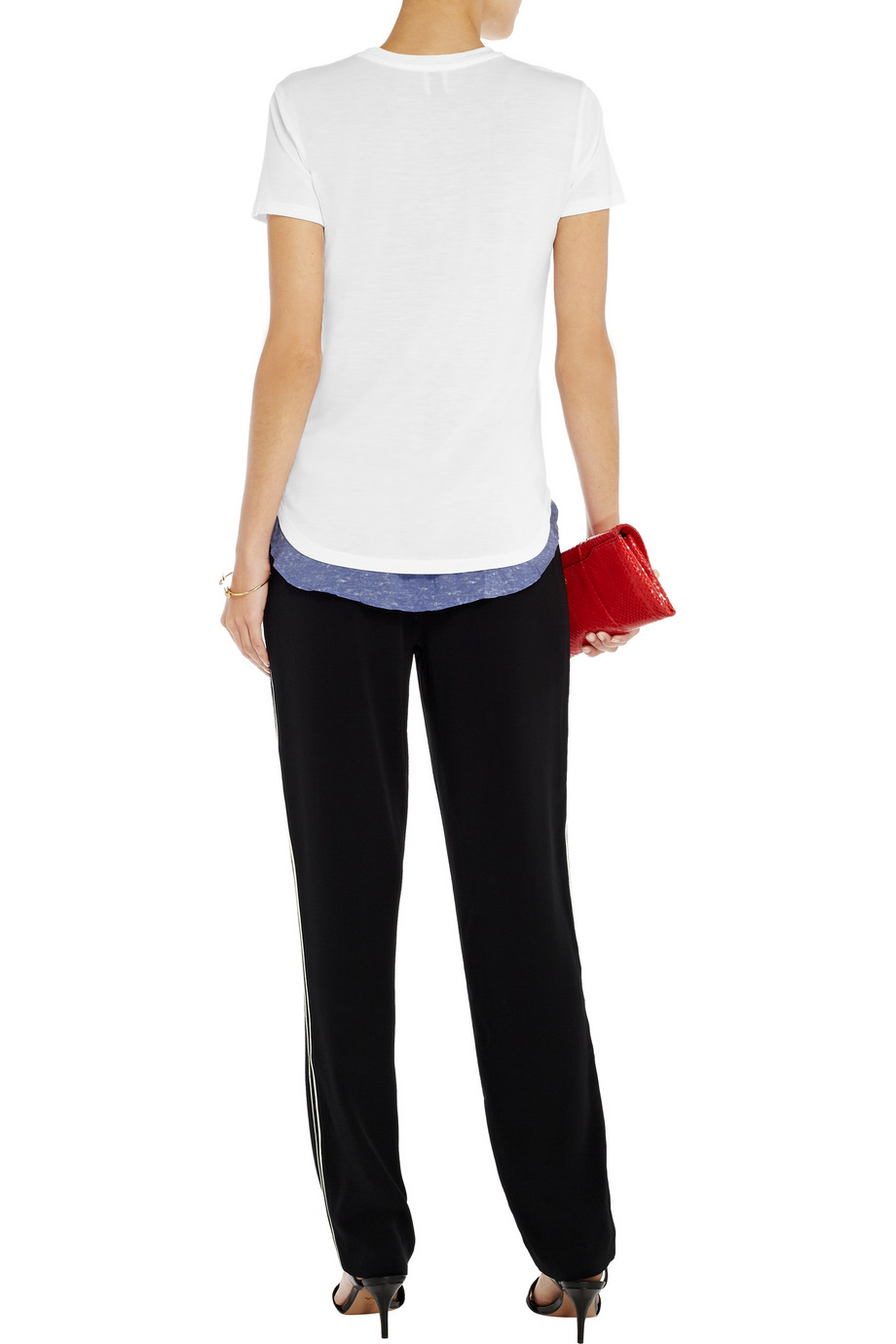 Iris & Ink Valerie jersey T-shirt – 0% at THE OUTNET.COM
