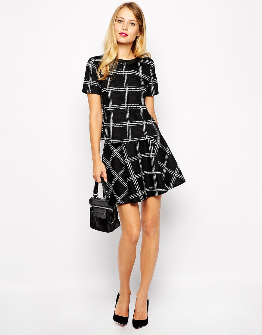 Oasis Tartan Check Co-ord at asos.com