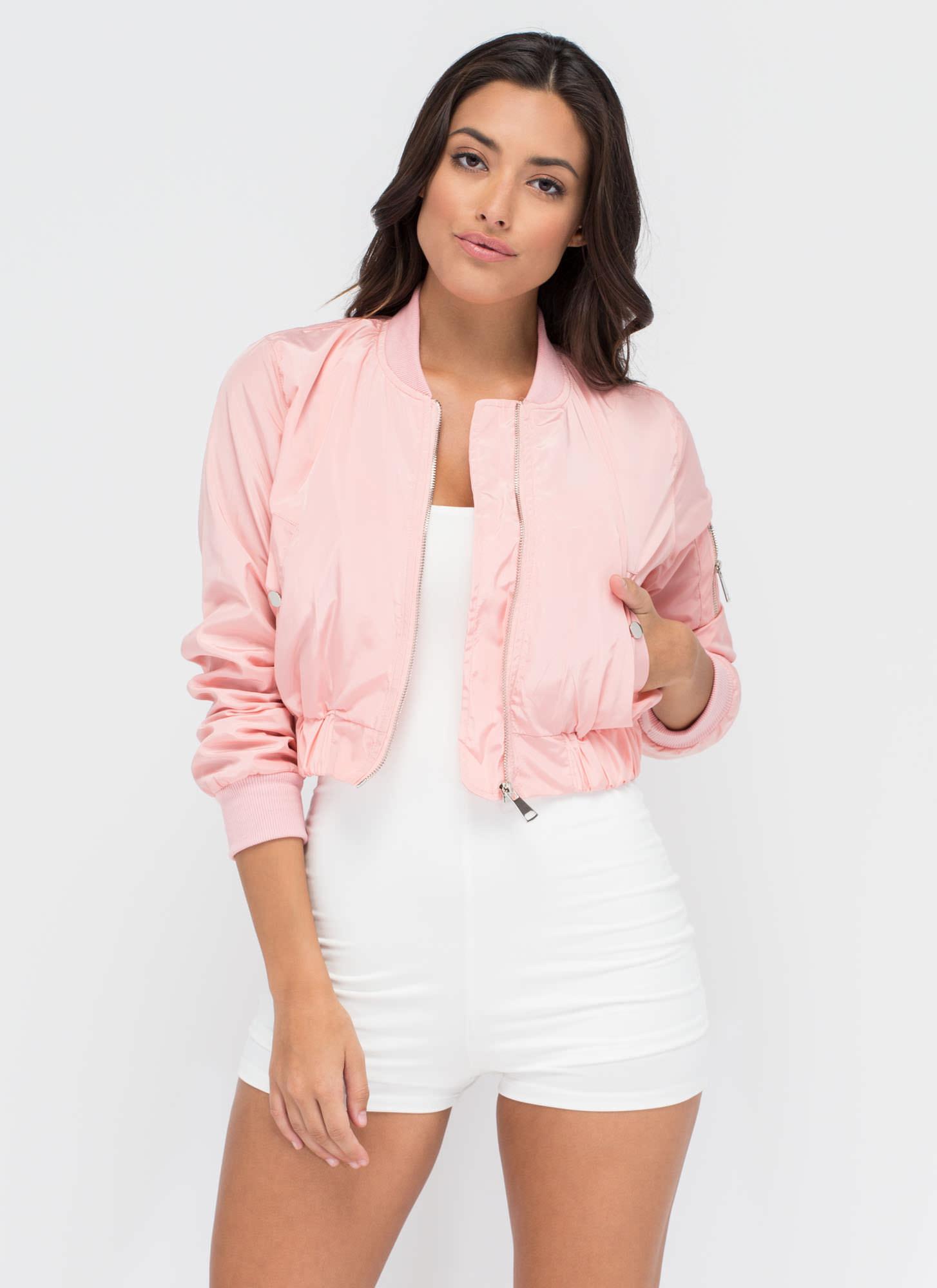 Cropped Pink Jacket - My Jacket