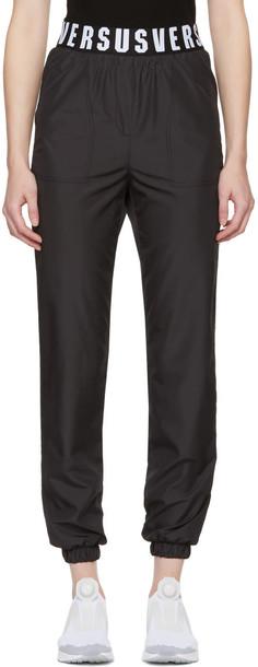 Versus pants black