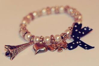 jewels bracelets paris heart
