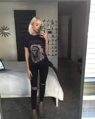 pants maddi bragg shirt jeans