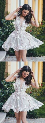 dress,la femme prom dresses short description