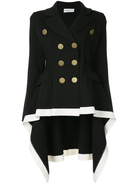 Sonia Rykiel blazer double breasted high women black wool jacket