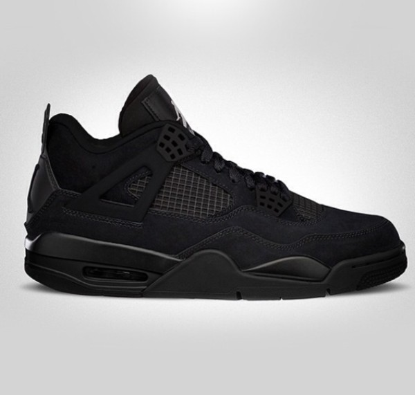 shoes black nike air max mens high top sneakers airjordan4 blackcat jordans basketball shoes retro jordans nice shoes jordan 4 black cat wavy mens shoes