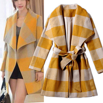 classy popular fashion preppy noble and elegant beauty girl women new cool clothes coat woolen coat long coat warm coat beautiful cute cardigan winter coat