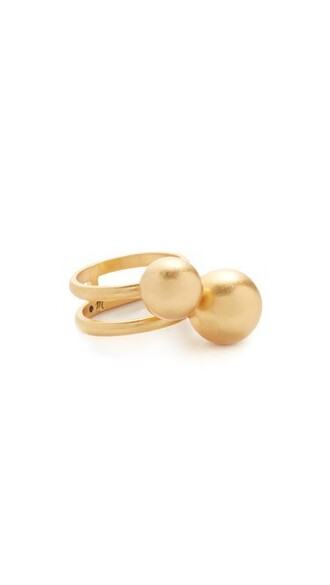 vintage ball ring gold jewels