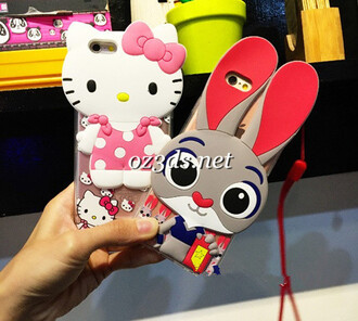 phone cover zootopia hello kitty iphone 6 case iphone6 plus case
