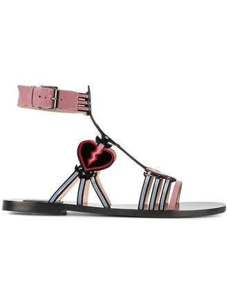 women love sandals leather black shoes