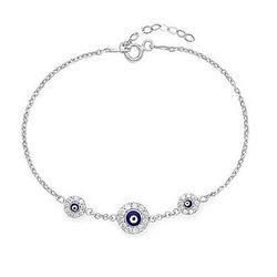 Online shop [min. 10$] 2015 wholesale turkish evil eye bracelet for women free shipping b2