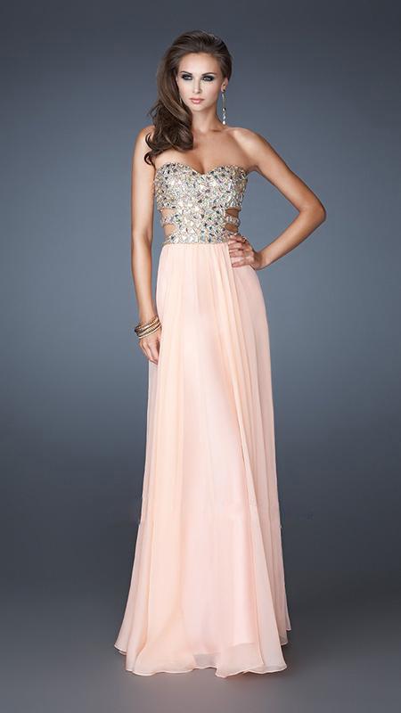 Prom Dresses 2013 Long Long Strapless Prom Dresses