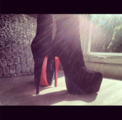 shoes,amazing,boots,heels,black,red