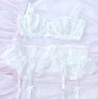 underwear white panties white lingerie white bra lace lacy underwear white bra panties lingerie bridal lingerie