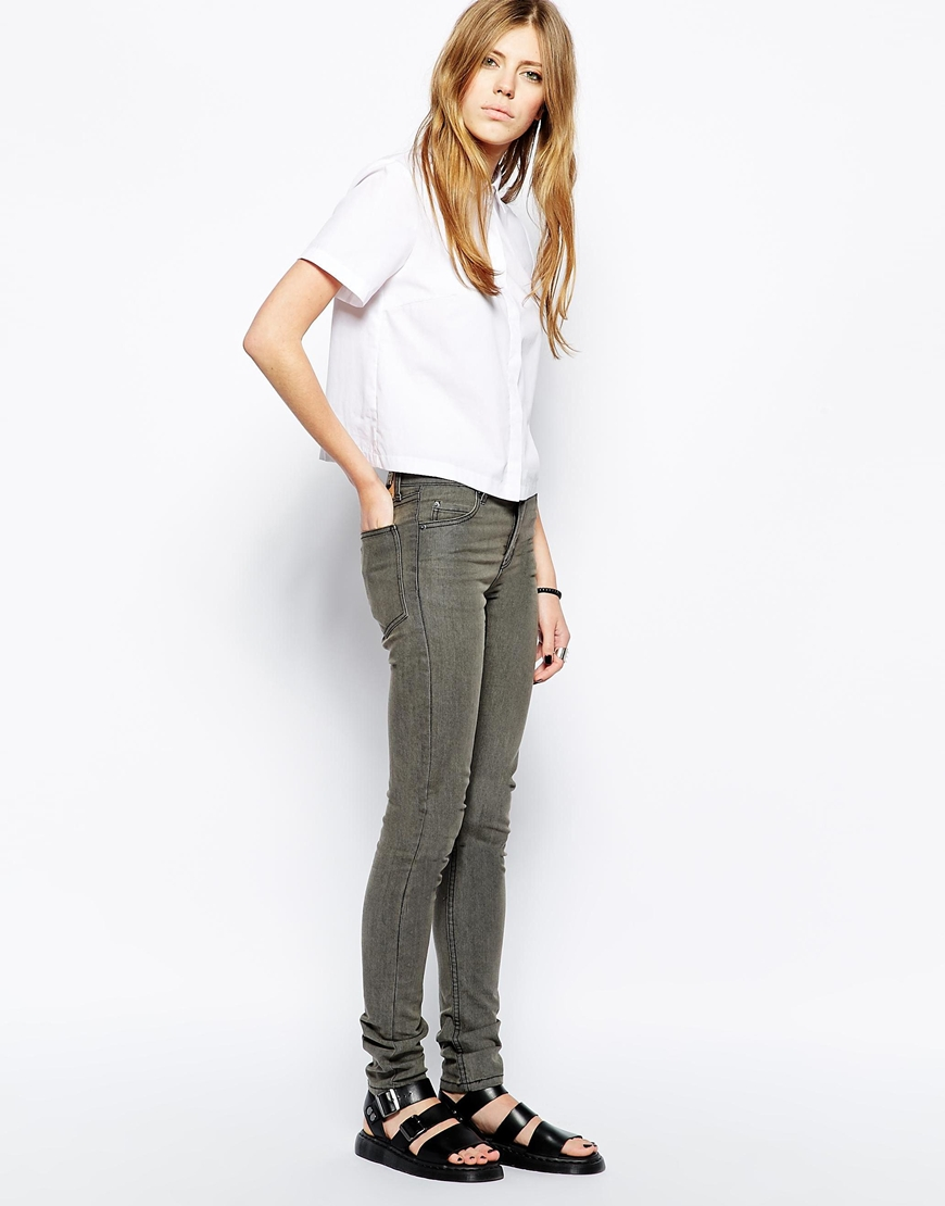 Cheap Monday Tight Stonewash Skinny Jeans at asos.com
