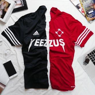 t-shirt adidas nike yeezys yeezy kanye west