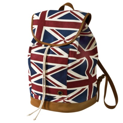 Mossimo supply co. canvas london print backpack : target