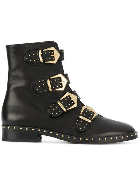 Marc Ellis women leather black shoes