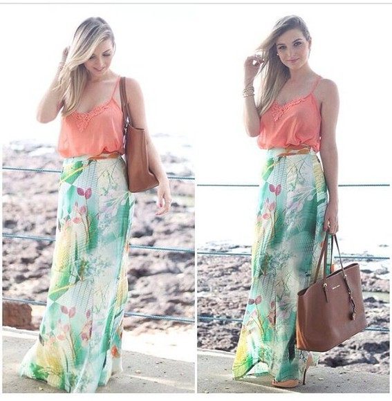 floral print dress skirt floral skirts long skirt maxi skirt