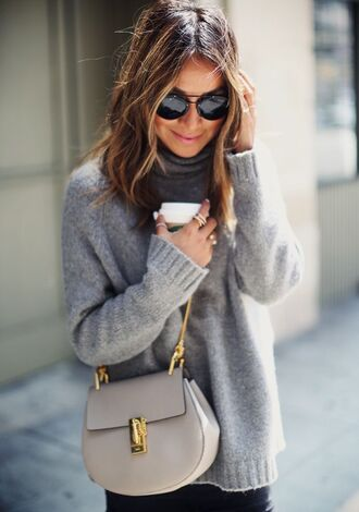 sweater gray soft casual