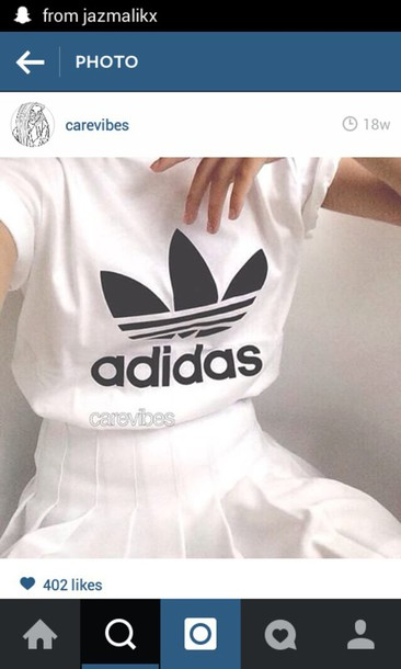 t-shirt black white black and white baggy addidas top adidas
