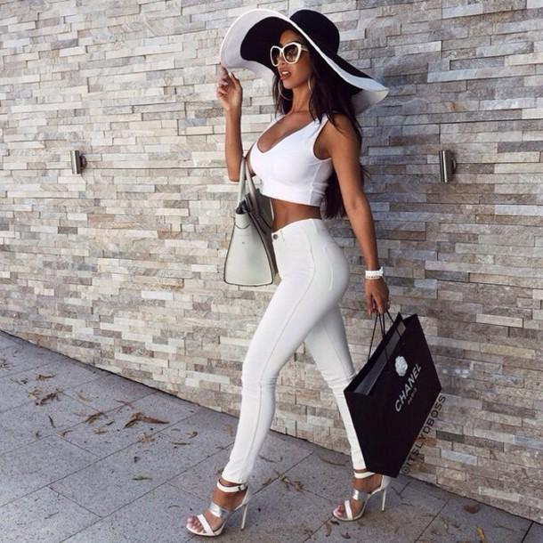 bag hat pants glasses shoes style