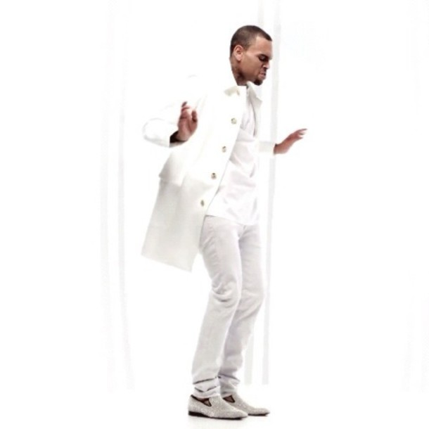 jacket chrisbrown for the road tyga white allwhite coke jacket suit trenchcoat coat trench
