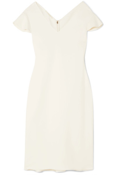 Antonio Berardi dress white off-white