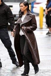 coat,grey,jeans,denim,trench coat,kourtney kardashian,kardashians,celebrity,fall outfits