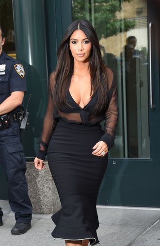 bqueen party elegant mesh kim kardashian clubwear two-piece bandage dress cocktail dress evening dress