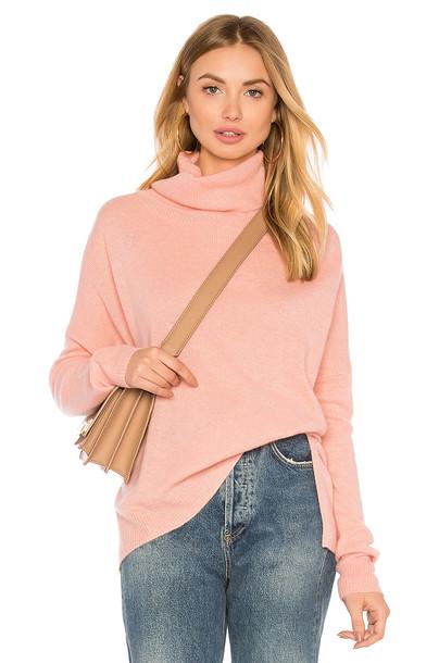 CHARLI sweater turtleneck turtleneck sweater pink
