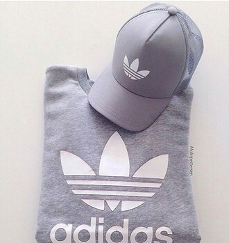 hat cap grey grey hat silver silver grey adidas fashion white white hat instagram baseball cap