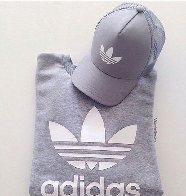 hat cap grey grey hat silver silver grey adidas fashion white white hat  instagram baseball cap. 85b1cc361e