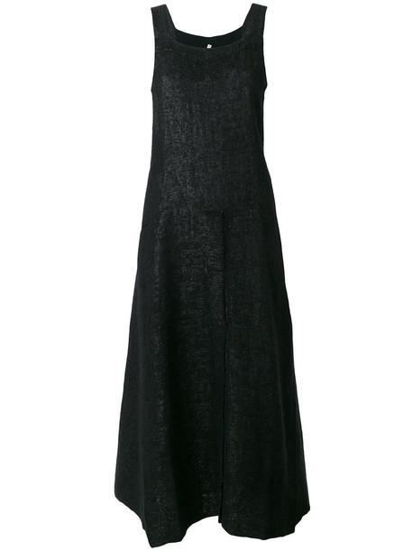 Boboutic dress midi dress women midi black wool