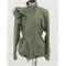 Ruffle fashion coat · nouveau craze · online store powered by storenvy