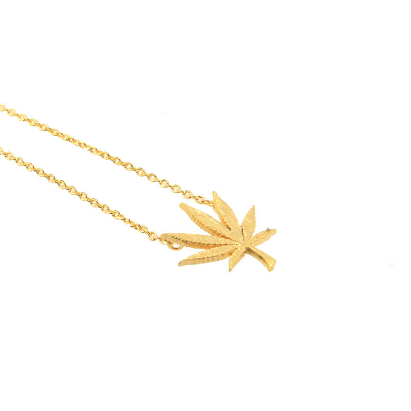 Tokin' Necklace- Gold