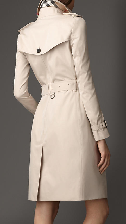 Long Cotton Gabardine Trench Coat | Burberry