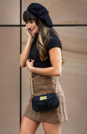 skirt clothes glee rachel berry lea michele