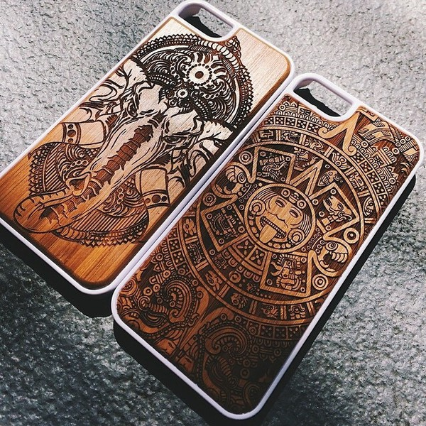 wood iphone case aztec elephant b iphone 6 case iphone 6plus iphone 5 case iphone 4 case. Black Bedroom Furniture Sets. Home Design Ideas