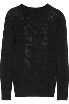 Open-knit sweater | ENZA COSTA | 65% off | THE OUTNET