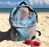 bag,backpack,rucksack,urbanbackpack,urbanbag,urbanrucksack,stylishbackpack,stylishbag,stylishrucksack,printedbackpack,printedbag,printedrucksack,map print,mapsbackpack