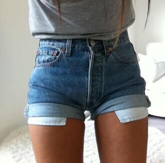 shorts denim denim shorts blue shorts short shorts fashion