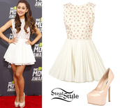 dress,ariana grande,shoes