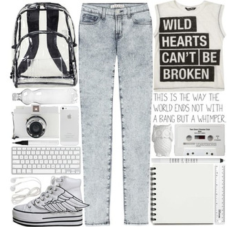 t-shirt wild heart can't be broken shoes bag