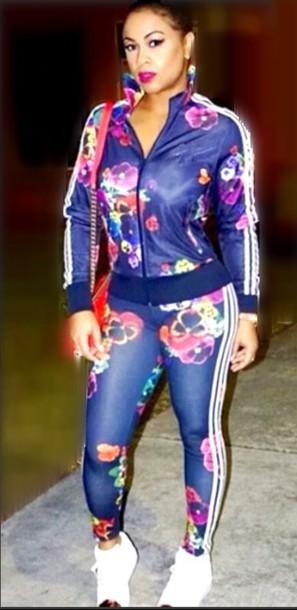 Jumpsuit Workout Women Casual Casual Suit Sportswear Streetwear