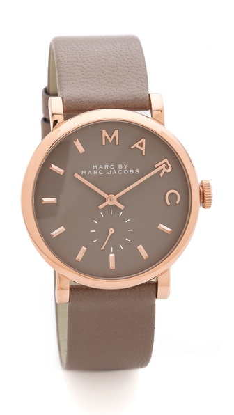 Marc by Marc Jacobs Leather Baker Watch |SHOPBOP | Save up to 30% Use Code BIGEVENT14
