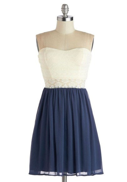 navy dress lace white dress