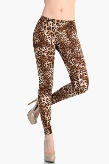 OMG Love Leopard Leggings