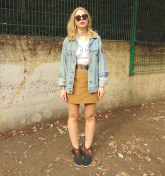 the velvet black grunge blogger fall outfits suede skirt crop tops indie moon vintage fashion