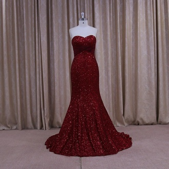 dress sequin dress sequins sexy dress sexy red dress red prom dress red carpet dress red red carpet prom dress pretty prom prom gown evening dress gorgeous stylish cute dress cute stunning outfit stunnig prom dresses burgundy dress burgundy sexy prom dress elegant dress elegant