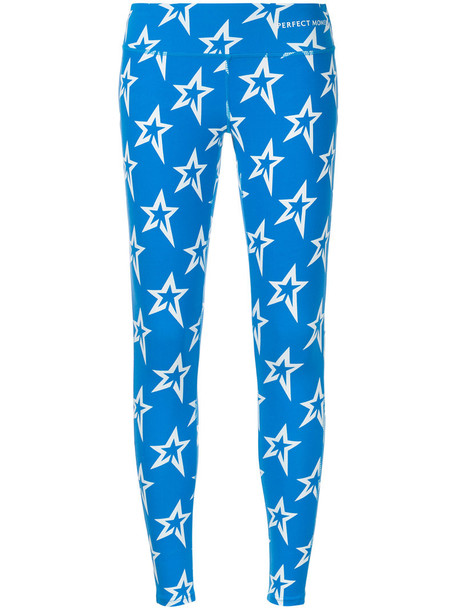 Perfect Moment leggings women spandex blue pants